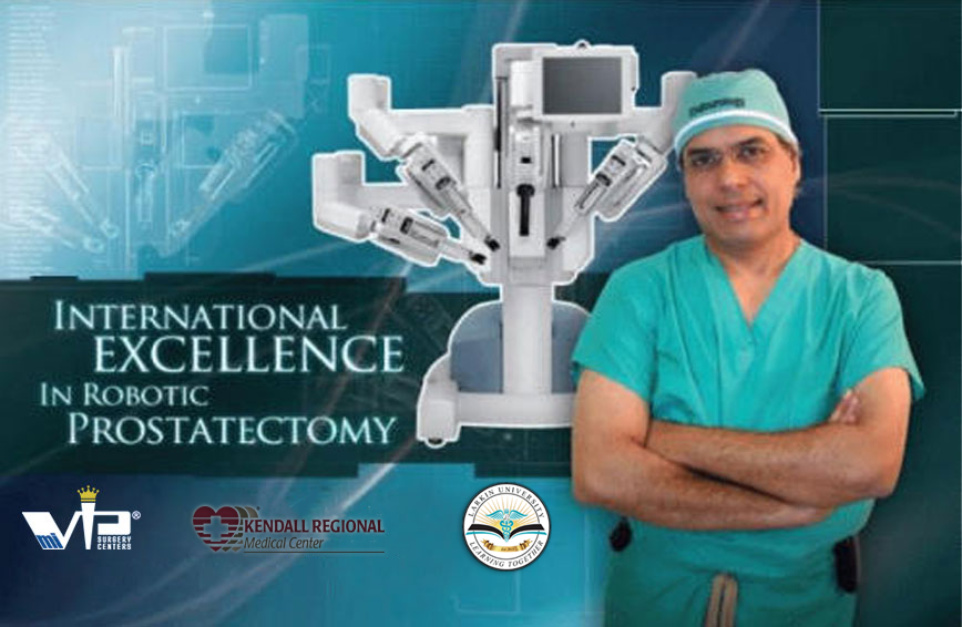 international excellence in robotic prostatectomy